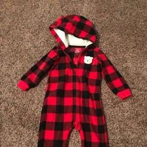 Carters Infant Fleece Coverall
